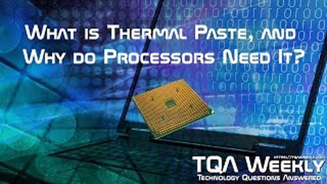 Learn why processors need this paste, and how to apply it correctly.