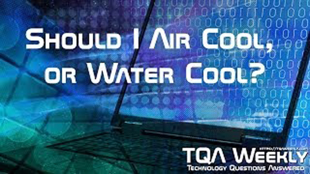 Descriptive explanation of the benefits, and downfalls of air and water cooling solutions.