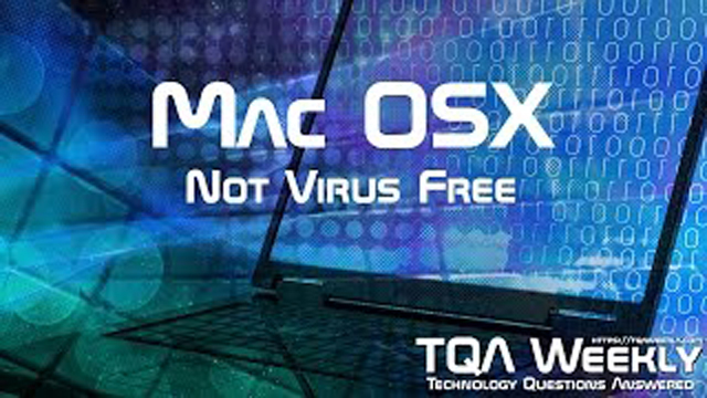 Steve Smith talks about MAC OSX and how viruses are actually a problem, and goes further into explaining that, virus immunity is not a valid purchasing decision, usage is.