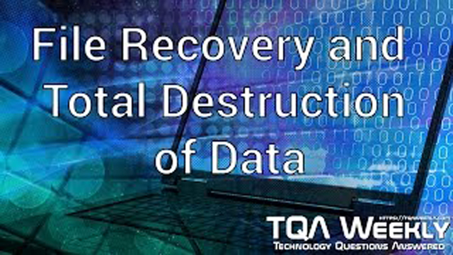 Steve Smith suggests software that can recover files, partitions, and even how to make them disappear.