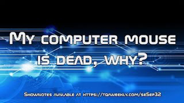 Steve Smith explains why you are usually to blame for your dead computer mouse.