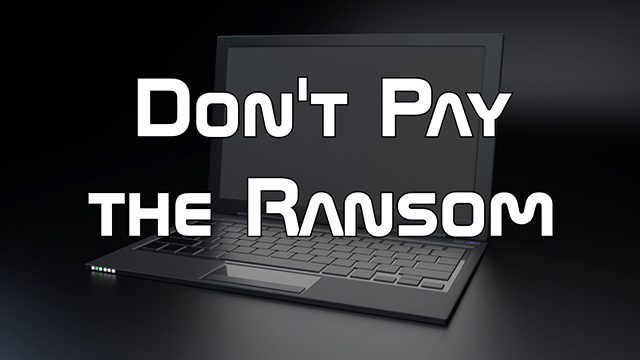 Steve Smith talks about Ransomware, the necessity of cold storage, and how to curb these kinds of attacks.