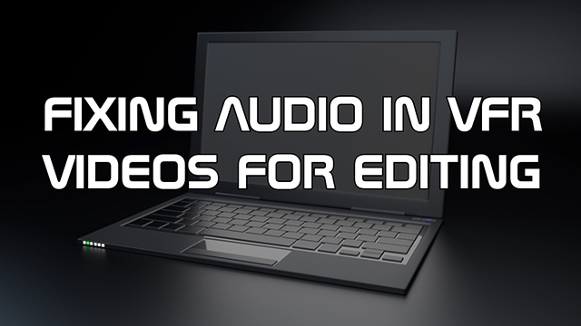 Learn how to take control of your videos and force them to have constant frame rates to help mitigate audio sync issues that can occur in video editors like Adobe Premiere.