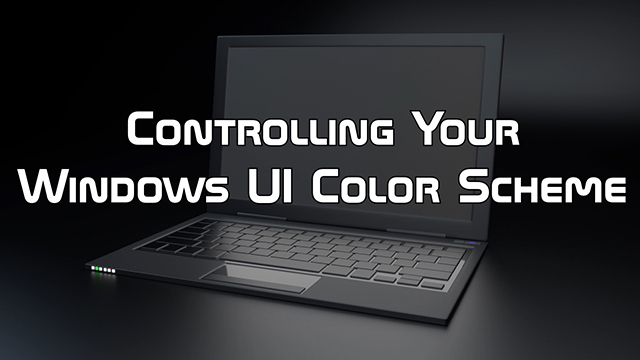 Learn how to control the color scheme of your Windows 10 install, including how to enable dark mode.